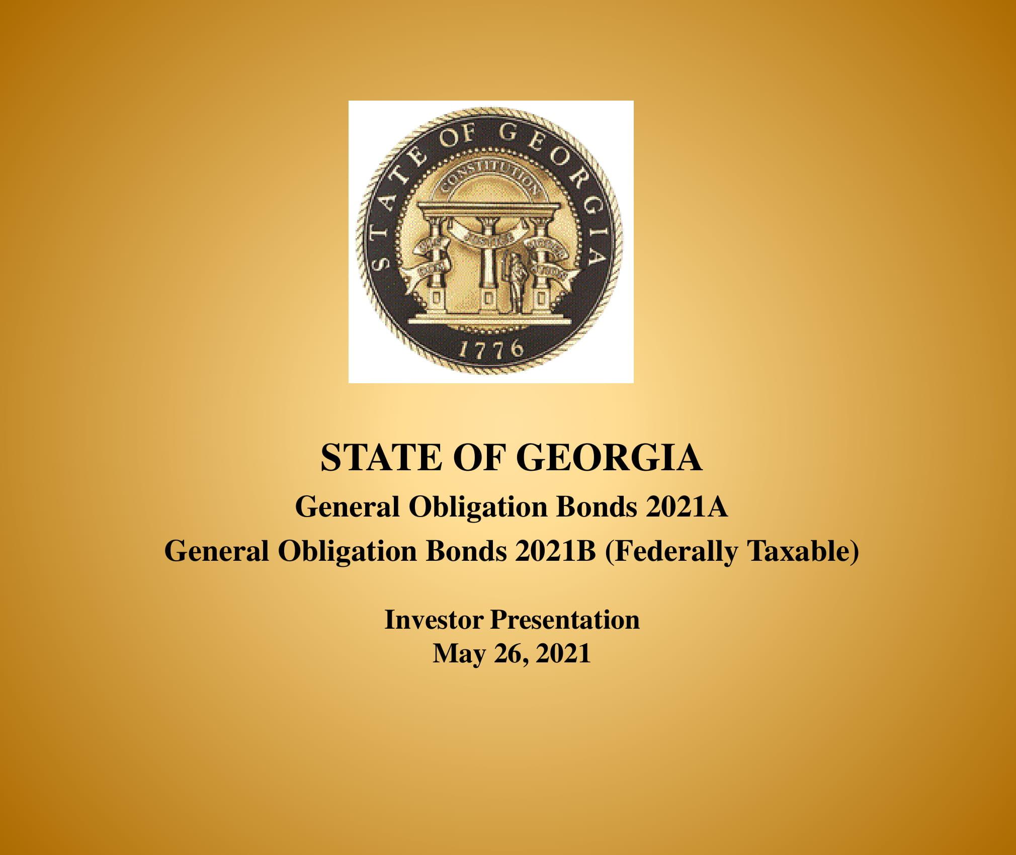 General Obligation Bonds 2021A&B