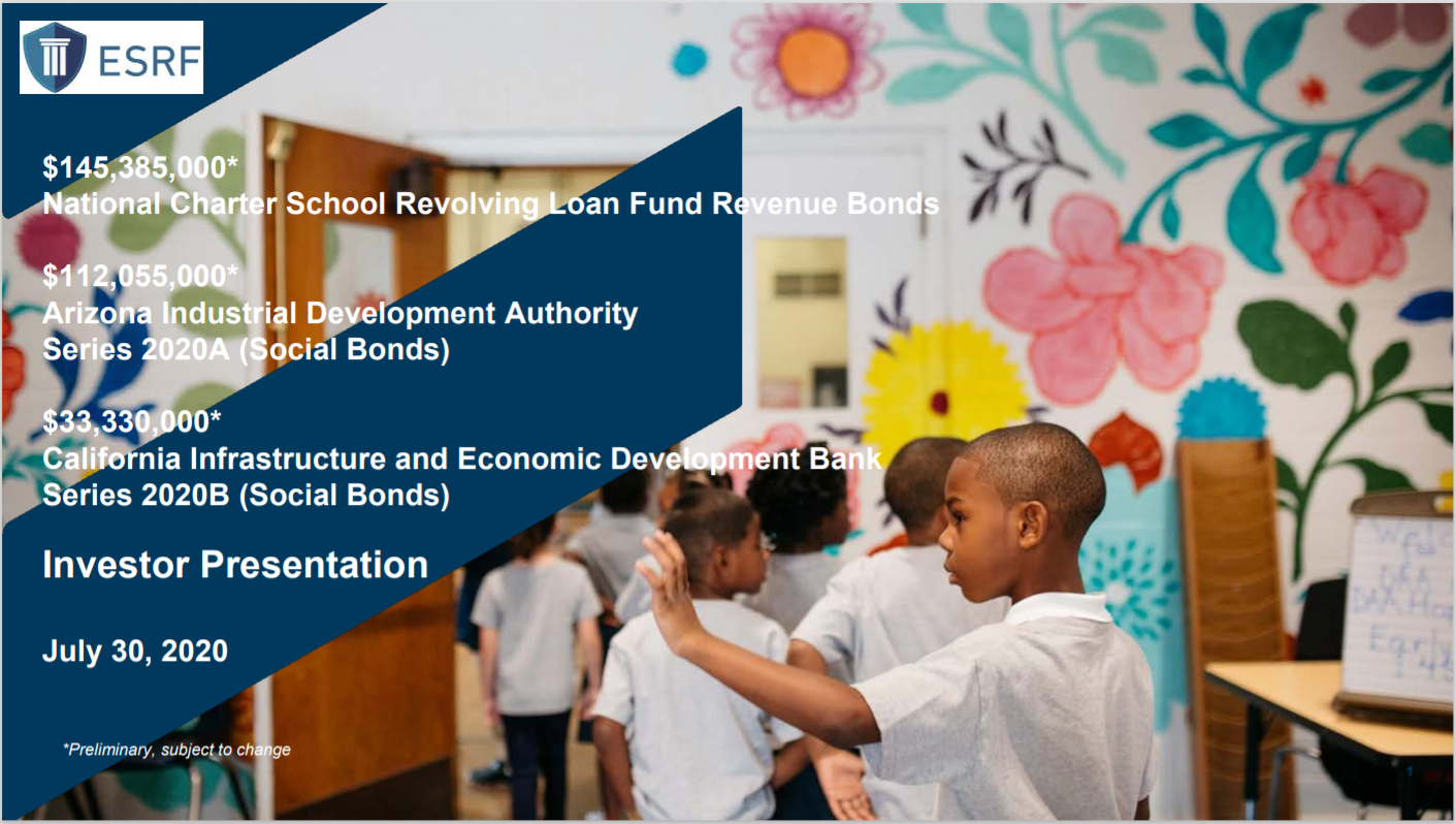 National Charter School Revolving Loan Fund Revenue Bonds, Series 2020AB (Social Bonds)