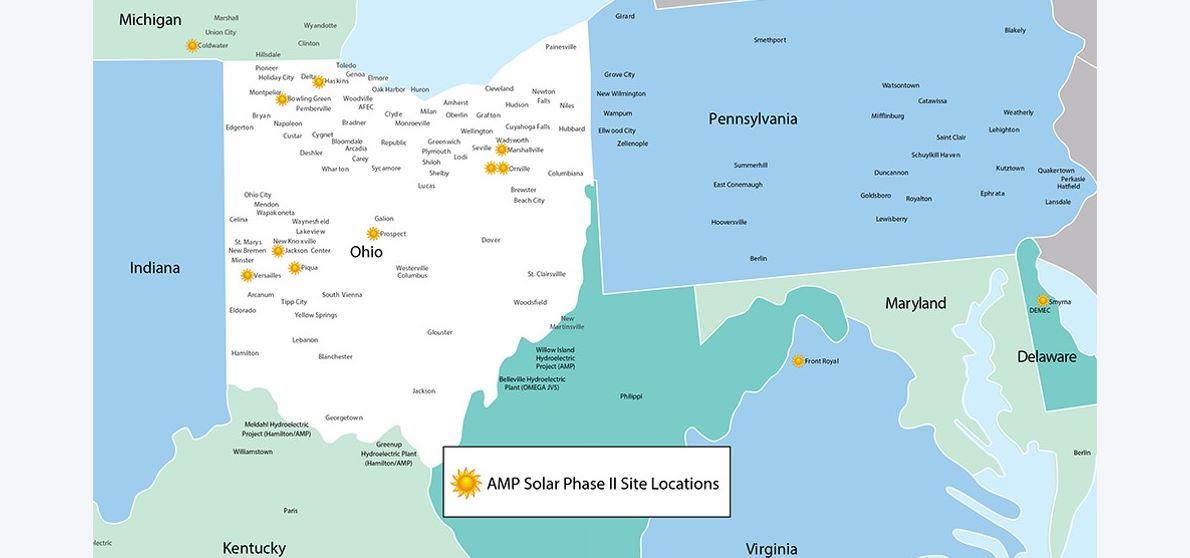 Initial Solar Site Locations