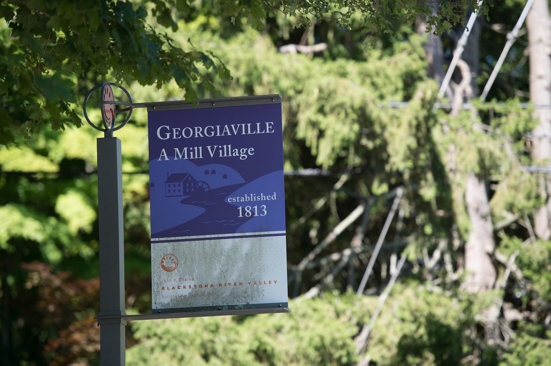 Georgiaville Village Green, Smithfield