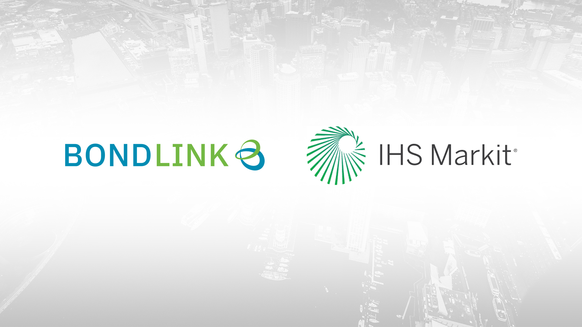 BondLink and Ipreo by IHS Markit Form Alliance to Boost Transparency for Bond Investors